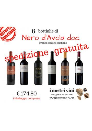 Nero - D'Avola - offerta - sicilia -vino